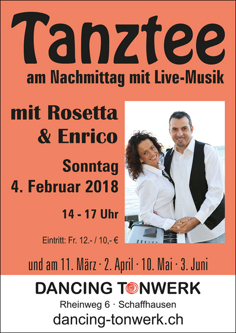 Tanztee mit Live-Musik